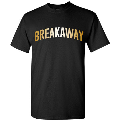 Breakaway Music Festival Gold Foil T-Shirt