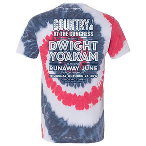 Country At The Congress Burnout Tie Dye