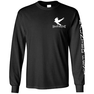 Glow In The Dark Haunted Fest Long Sleeve T-Shirt
