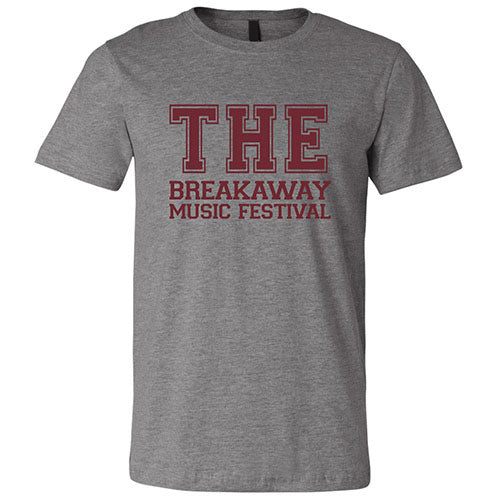 Vintage THE  Breakaway Music Festival T-Shirt