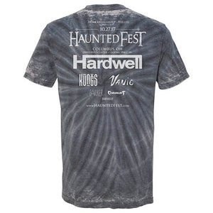Vintage Haunted Fest Tie Dye