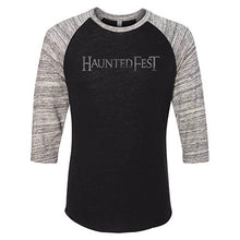 Vintage Haunted Fest Baseball Tee