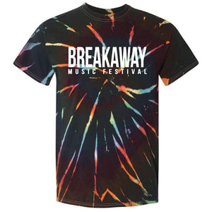Breakaway Music Festival Dark Tie Dye T-Shirt
