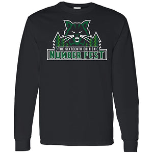 #FEST 16th Edition Bobcat Number Fest Long Sleeve T-Shirt