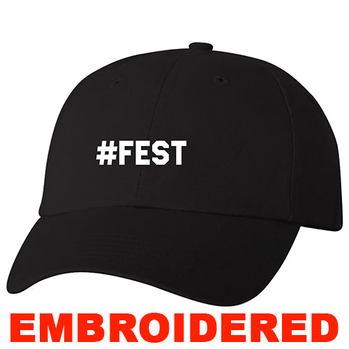 #FEST 16th Edition #FEST Black Dad Hat