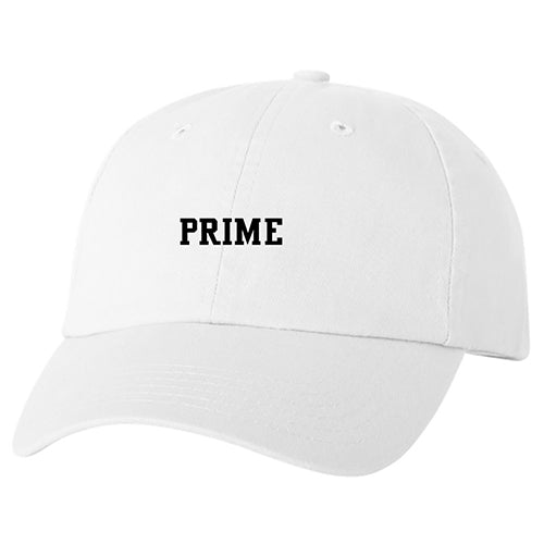 Prime Music Festival White Dad Hat
