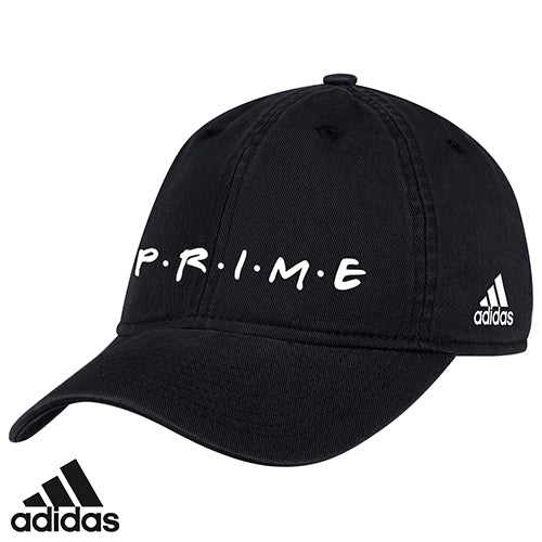 Adidas - PRIME Friendly Logo Slouch Adjustable Hat – theprimeshop 8dcae37c30c