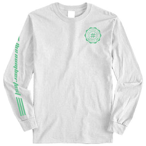 Number Fest Crest White Long Sleeve T-Shirt 2019 Presale