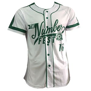The Number Fest 16th Ed. Baseball Jersey