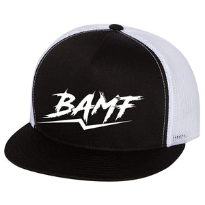 BAMF Fire Breakaway Festival Trucker Hat
