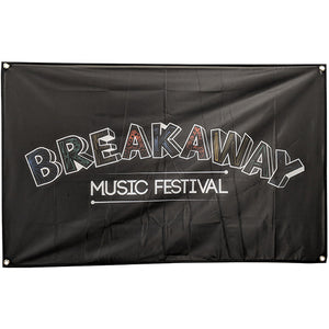 Breakaway Music Festival Flag