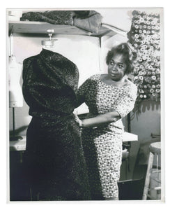 Zelda Wynn Valdes - designer who believed clothes had to fit women, not vice versa