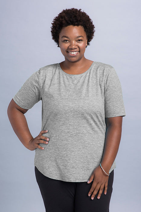 Mindy Plus Short Sleeve Top