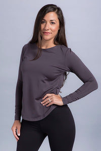 Therese Ruched Sleeve Top - Vivacity Sportswear