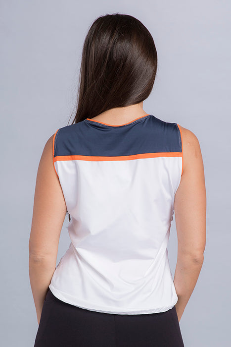 Steffi Ruched Eco Top - Vivacity Sportswear