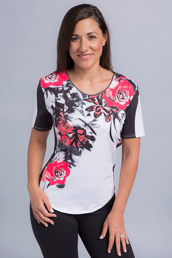 Lily Short Sleeve Top - Vivacity Sportswear