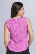 Staci Ruched Sleeveless Top - Vivacity Sportswear