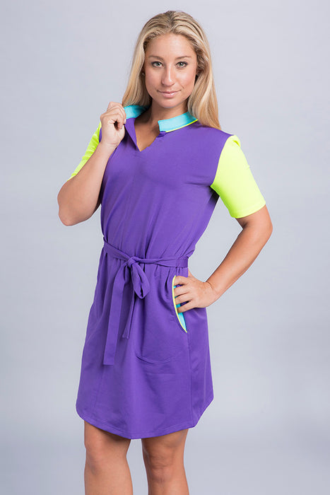 Audrey Short Sleeve Dress - Vivacity Sportswear