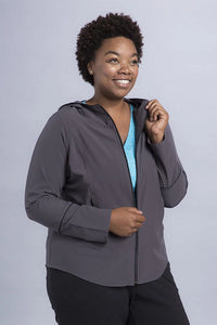 Amanda Plus Full Zip Jacket - Vivacity Sportswear