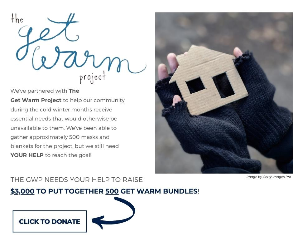 Get Warm Project GoFundMe Page