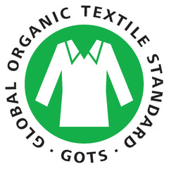 Global Organic Textile Standard certified organic clothing