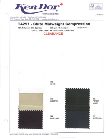 T4291 - ChitoSante Midweight Compression