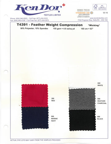 T4391 - Feather Weight Compression