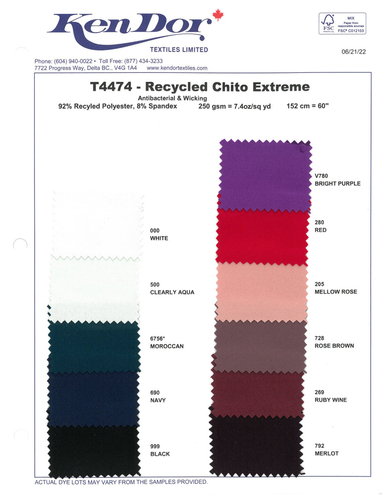 T4474 - Recycled ChitoSante Extreme