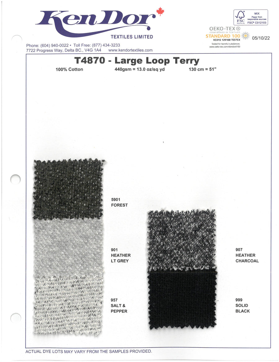 T4870 - Large Loop Terry
