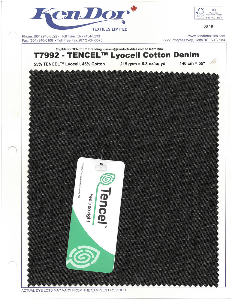 T7992 - Tencel™ Cotton Denim