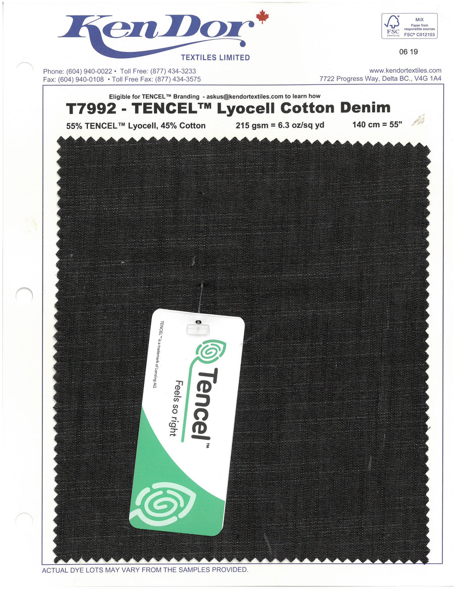 T7992 - TENCEL™ Lyocell Cotton Denim