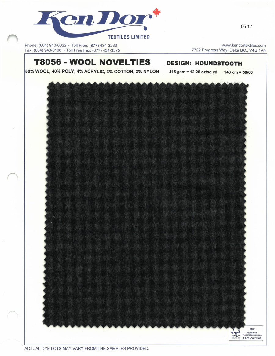 T8056 - Wool Novelties