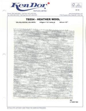 T8554 - Heather Wool