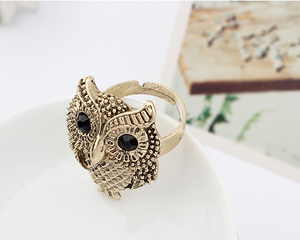 Personality Owl Ring
