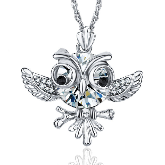 Charm Owl Choker Necklace