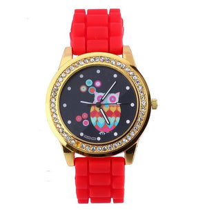 Night Owl Rainbows Wristwatch (13 Colors)