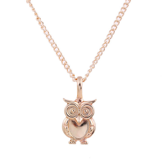 Wisdom Owl Necklace