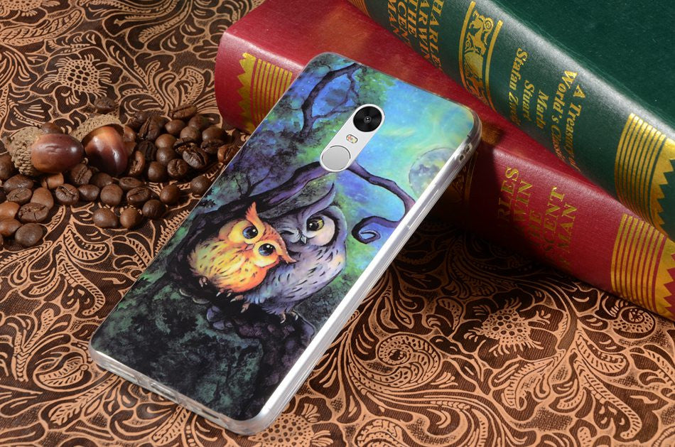 Lovely Soft Owls Phone CASE