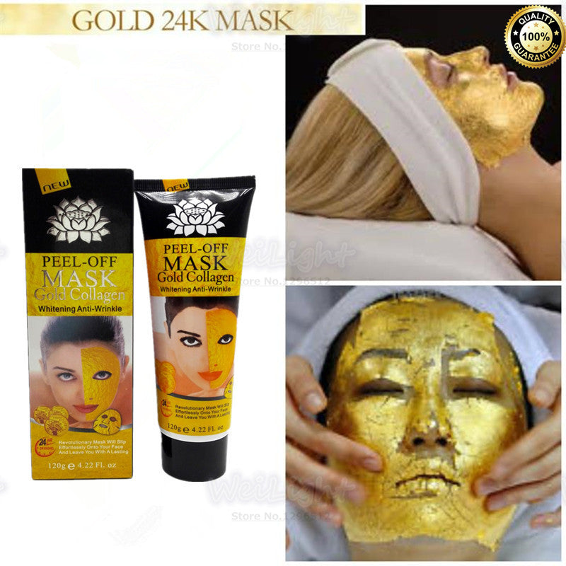 24K Gold Beauty Face Mask