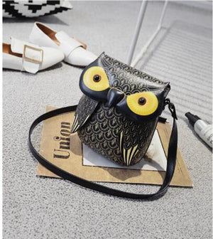 Mini Owl Shaped Bag