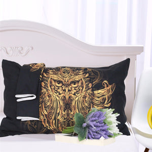 DreamCatcher Owl Bed Pillow Case
