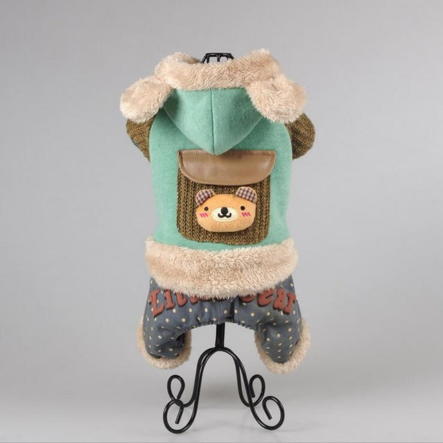 Quality Small Pet Warm Outfit