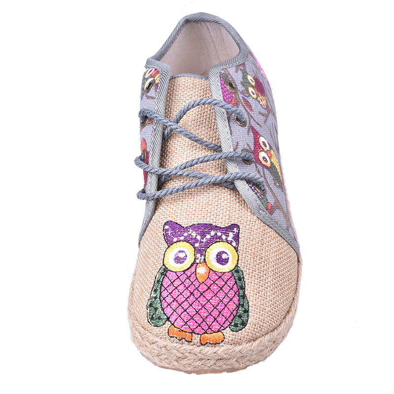 Handmade Oxfords Owls Shoes