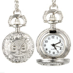 Antique Style Owl Pocket Watch