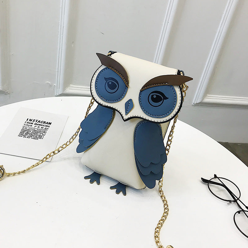 Mini Unique Exquisite Owl Bag