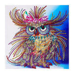 Dazzling 3D Owl Diamond Painting DIY Kit