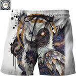 Yin Yang Owl Pants By Brizbazaar Art