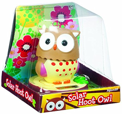 Solar Hoot Owl Toy