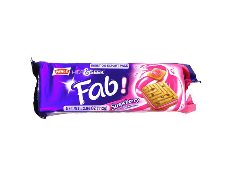 Parle Hide&Seek Fab! Strawberry Biscuit