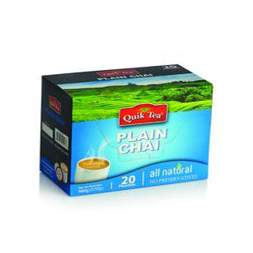 Quick Tea Plain Chai 10 Pouches